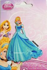 DISNEY PRINCESS OFFICIAL IRON ON APPLIQUE MOTIF WITH STITCHED EDGES - CINDERELLA