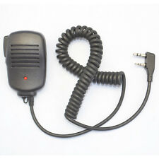 2-Pin Speaker mic clear sound for ICOM TYT Kenwood Baofeng Radio with 3.5mm Jack