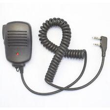 Orginal 2-Pin Speaker mic for ICOM COBRA MAXON Baofeng HYT Kenwood with 3.5mm
