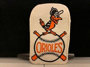 Classic Vintage MLB Baltimore Orioles 3x5 inch Embroidered Emblem Patch