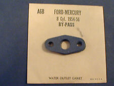 Vintage1954-56? Ford Mercury V8 8 Cyl Water By Pass Gasket