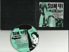 SUM 41 Still Waiting PROMO DJ CD Single TREBLE CHARGER