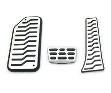 (Fits: Kia 2011 - 2014 Sportage R) AT Aluminum Fuel Sports Foot Pedal Full Set