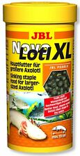 JBL Novo Lotl XL ** Pellet food for Adult Axolotl  ** Premium food 250ml