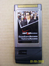 Verizon PCMCIA BroadBand Access National Access Card PC5750 3G QualComm CDMA
