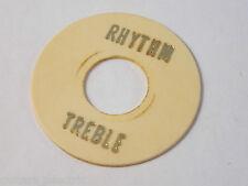 Vintage relic âgés de crème 3 Voie Commutateur à bascule plaque ronde rhythm / treble les Paul