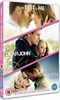 Nicholas Sparks Triple: Dear John/Safe Haven/The Best of Me [DVD][Region 2]