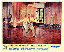 DADDY LONG LEGS ORIGINAL LOBBY CARD FRED ASTAIRE DANCING COLOR 1955