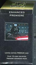 Star Wars CCG Enhanced Premiere Sealed Deck Darth Vader With Lightsaber