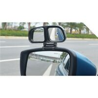 Wide Angle Left+Right Rearview Mirror Car Auxiliary Mirror Blind Spot