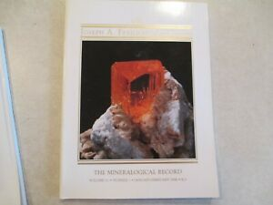 2 Joseph A Freilich Collection + The Sweet Home Mine The Mineralogical Record
