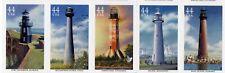 US Scott#4409-4413 Gulf Coast Lighthouses Strip of 5 MNH***FREE SHIP****