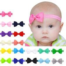 Baby Kids Girls Mini Bowknot Hairband Elastic Headband Infant Toddler Hair Band
