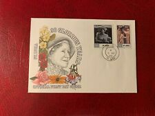 ST LUCIA 1990 FDC QUEEN MOTHER 90TH BIRTHDAY ROYALTY THEATRE CORONATION