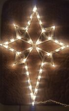 Lighted Nativity Christmas Star Outdoor Wall  Yard Lawn Decoration