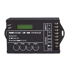 LED Time Dimmer RGB Controller TC420 DC12V/24V 5Channel 20A Programmable hv2n