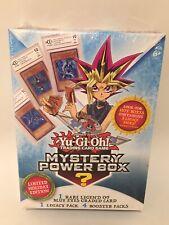 Yu-Gi-Oh Mystery Power Box Limited Holiday Edition 2018 Yugioh New LOB Graded