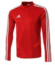 Adidas Men Tiro 19 Training Shirts L/S Soccer Red Jersey Tee Top Shirt D95920