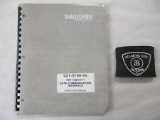 Tektronix 021-0188-00 4051 Opt 1 Data Communication Interface Operators Manual