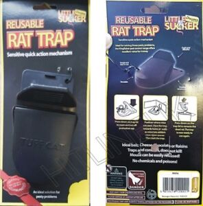 PLASTIC RAT TRAP SPRING LOADING REUSEABLE QUICK ACTION HEAVY DUTY