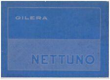 Instrucciones Gilera Nettuno 1953 in Spain