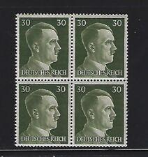 MNH  Adolph Hitler stamp block, 1941, PF30, Original Third Reich Germany Block