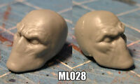 "ML028 Custom Cast masked male head use with 6"" Marvel Legends figures"