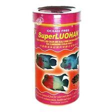 XO Flowerhorn Cichlid Fish Food Ocean Free Super Luohan Head Color Growth 100 ml