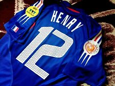 Jersey adidas france Thierry Henry 2004 (S) vintage shirt euro 2004 vintage