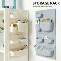 Home Wall Mounted Rack Organizer Kosmetische Kleinigkeiten Halter Küchenreg P1Q6