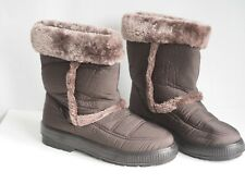 Cushion Walk Thermo-Tex Fleece Lined Warm Snow Boots Non-Slip Soles 7
