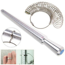 Professionelle Silber Ring Sizer Finger Sizing Messstab Metall Ring Dorn