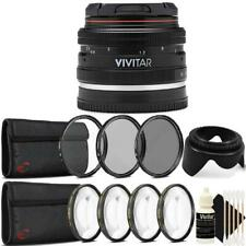 Vivitar 50mm f/2.0 Lens Kit for Sony E Mount Mirrorless Digital Cameras