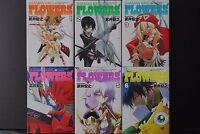 JAPAN Hiroyuki Takei manga: Shaman King Flowers vol.1~6 Complete Set