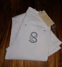 07817c8ae29765 STRANDFEIN Designermode Jeanshose Sina 5-Pocket-Style Stretchdenim Gr.36  weiß