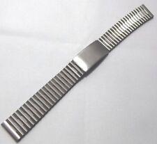 cinturino bracciale acciaio maglia lucida attacco speciale ansa 7//12 mm orologi