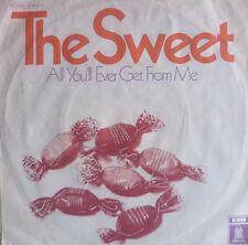 """7"""" 1969 GLAM VG+ ! SWEET : All You´ll Ever Get From Me"""