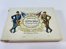 Playing Cards Commemorating the American Civil War with Descriptive Brochure