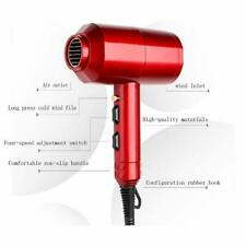 2000 W Professional Hair Dryers for Women and Men (Colour May Vary Black and Red