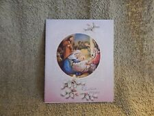 Vintage Christmas Card - Unmarked 733 / Embossed, Mary and Baby Jesus