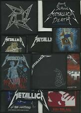 METALLICA bunch of 11 top sellers WOVEN SEW ON PATCHES official MERCH no.3/4