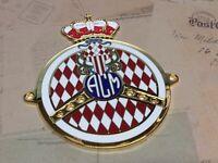 Automobil-Club Von Monaco Auto Gitter Abzeichen Silber 2 Abzeichen Special
