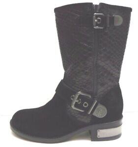 Vince Camuto Size 5.5 Black Leather Boots New Womens Shoes