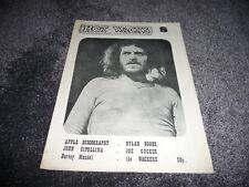 HOT WACKS FANZINE JOE COCKER APPLE RECORDS BOB DYLAN JOHN CIPOLLINA   1975