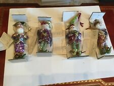 Nwt Lot 4 Mark Roberts Butterfly, Wine Lover, Bird Lover & Miracles Fairies