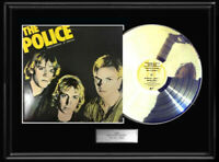 THE POLICE OUTLANDOS D'AMOUR WHITE GOLD SILVER PLATINUM TONE RECORD ALBUM RARE