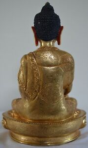 """6"""" Handmade Gold Plated in CopperBuddha"""