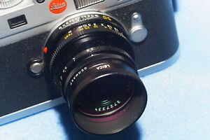 "Leica Objektiv ""Elmar-M 2,8/50 mm"", schwarz, wie neu"