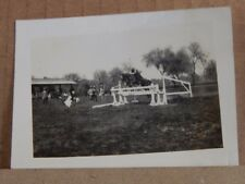 Photograph India 1920's Show Jumping Lahore British Empire