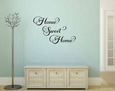 HOME SWEET HOME Vinyl Wall Decal Quote Sticker Decor Words Lettering Home Sign